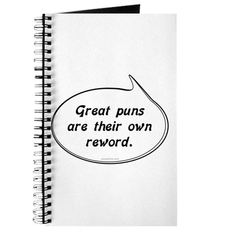 Great Pun humor Journal