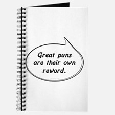 Great Pun humor Journal