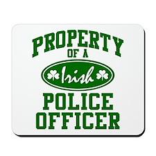 Irish Police Property Mousepad