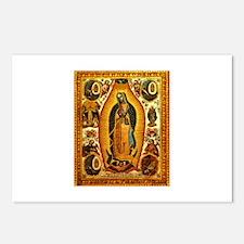 Virgen de Guadalupe Postcards (Package of 8)