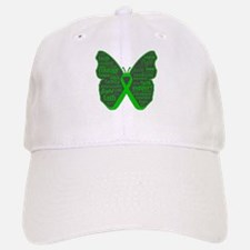 Butterfly Bile Duct Cancer Baseball Baseball Cap