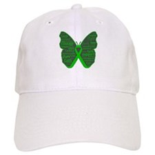 Butterfly Bile Duct Cancer Baseball Cap