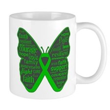Butterfly Bile Duct Cancer Mug