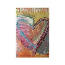FALL (in Love) Rectangle Magnet