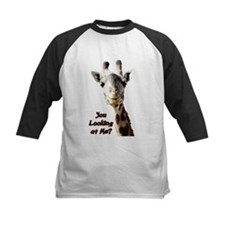 You Looking at Me? giraffe Baseball Jersey