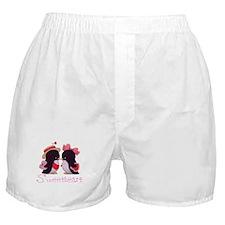 Penguin Sweethearts Boxer Shorts