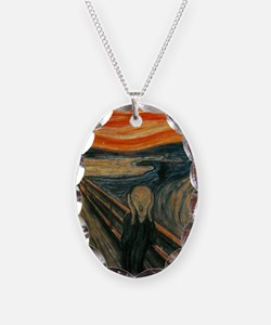 The Scream by Munch Necklace