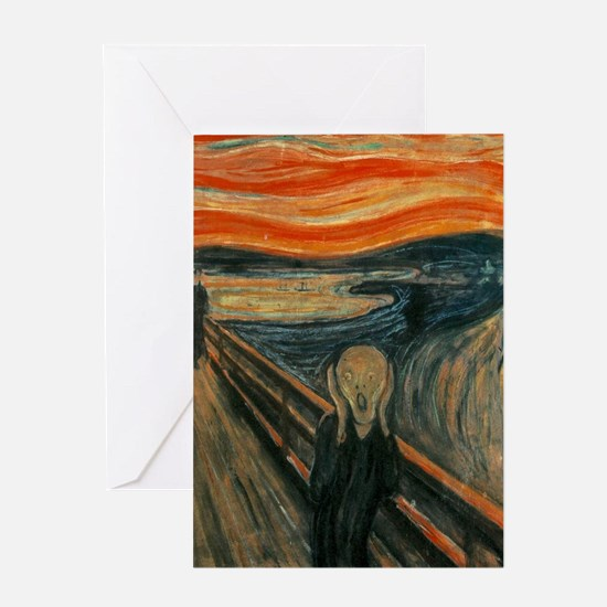 The Scream by Munch Greeting Card