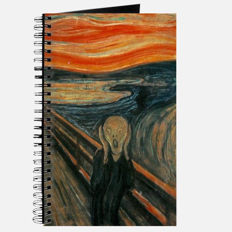 The Scream by Munch Journal