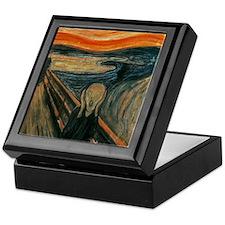 The Scream by Munch Keepsake Box