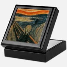 The Scream by Munch Keepsake Box
