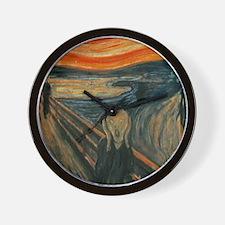 The Scream by Munch Wall Clock