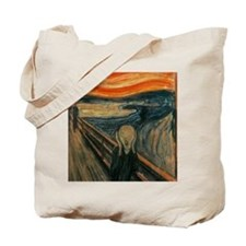 The Scream by Munch Tote Bag