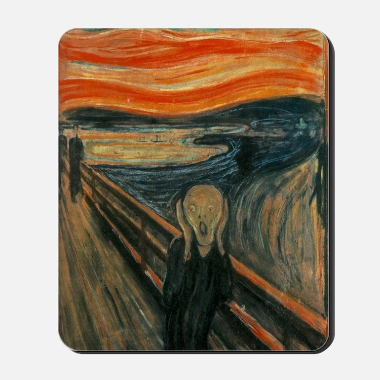 The Scream by Munch Mousepad