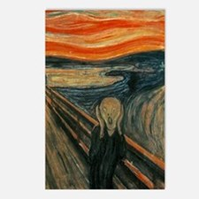 The Scream by Munch Postcards (Package of 8)