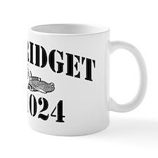 bridget black letters Mug