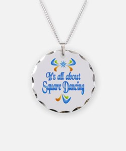 About Square Dancing Necklace