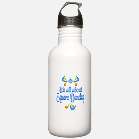 About Square Dancing Water Bottle