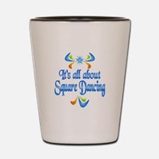 About Square Dancing Shot Glass