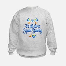 About Square Dancing Sweatshirt