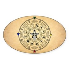 Wheel of the Year Zodiac Sabbats Decal