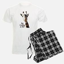 You Looking at Me? giraffe Pajamas
