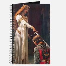The Accolade by Blair Leighton Journal