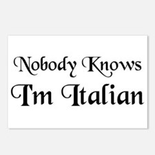 The Italian Postcards (Package of 8)