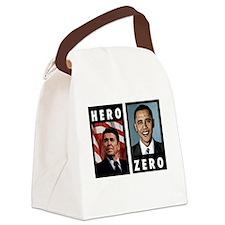 zerohero2forblack Canvas Lunch Bag