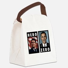 zerohero2forblack Canvas Lunch Bag