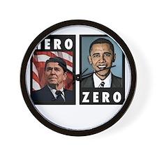zerohero2forblack Wall Clock