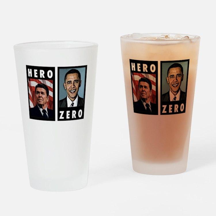 zerohero2forblack Drinking Glass