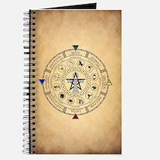 Wheel of the Year Zodiac Sabbats Journal