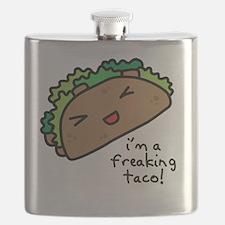 im a freaking taco Flask