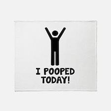 I Pooped Today! Stadium Blanket