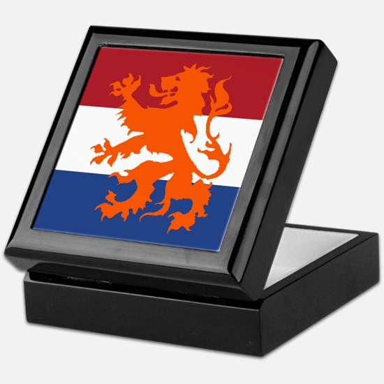 Holland Lion Keepsake Box