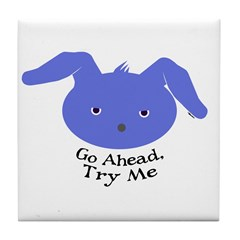 TRY ME Tile Coaster
