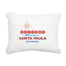 SANTA PAULA Rectangular Canvas Pillow