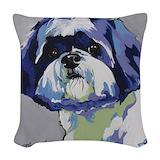 Dog Woven Pillows