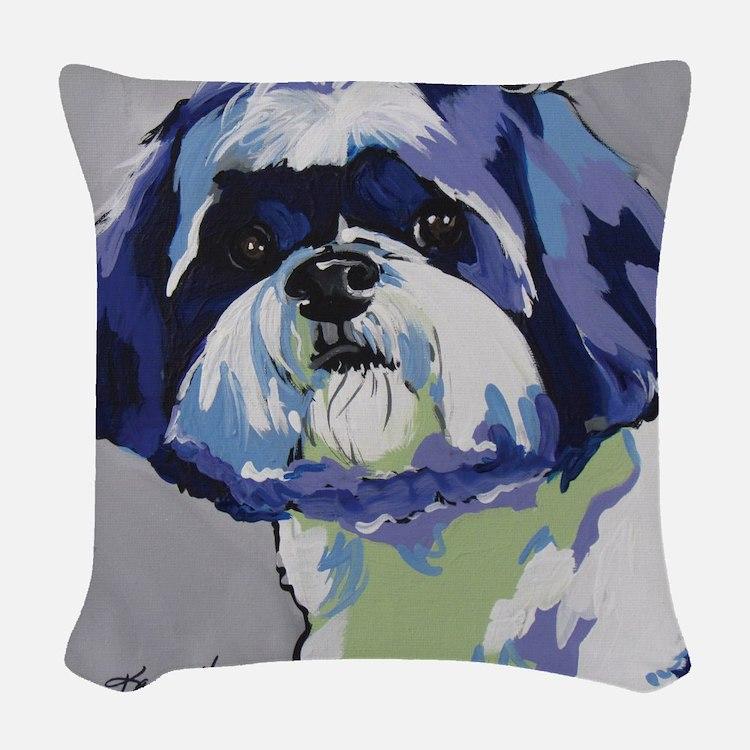 ShihTzu - Ringo s6 Woven Throw Pillow