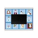 Snow Folks 5x7 Picture Frame