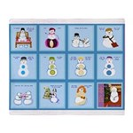 Snow Folks 5x7 Throw Blanket