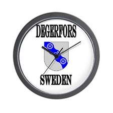 The Degerfors Store Wall Clock