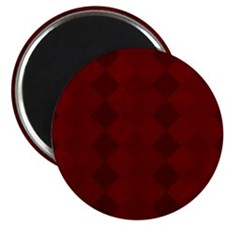Red Checkers  Magnet
