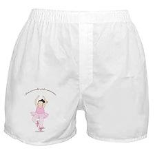2-Pirouette brunette Boxer Shorts