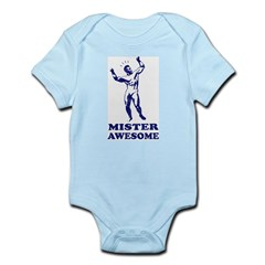 MISTER AWESOME - Baby Boy creeper