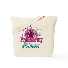 2-Grunge and Stars Princess(kids) Tote Bag