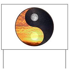 Yin/Yang-Sun /Moon Yard Sign
