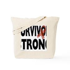 Survivor Strong Tote Bag