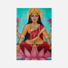 Lakshmi original art Rectangle Magnet